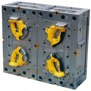 2 shot plastic injection mold